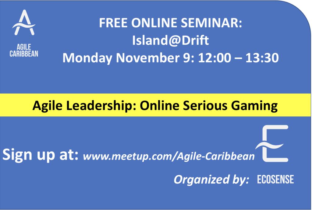 Agile People Leadership EcoSense Island@Drift
